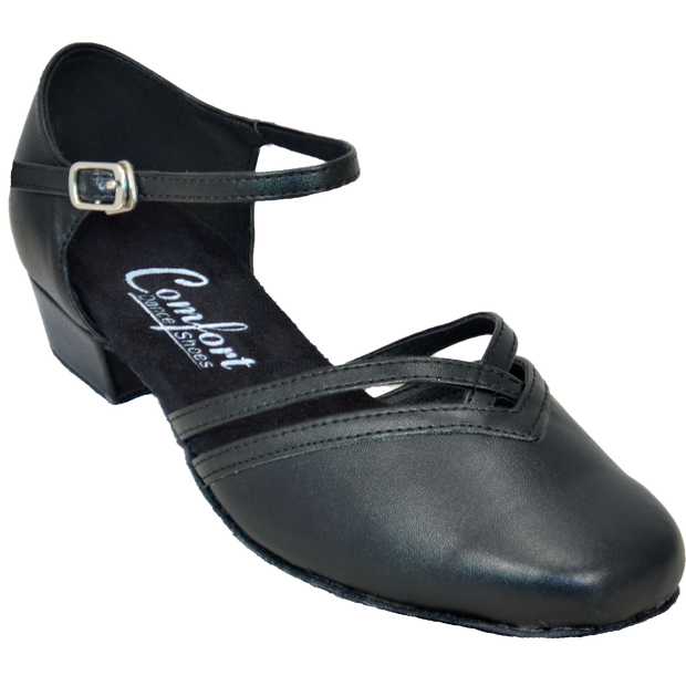 Comfort Shag - Black Leather