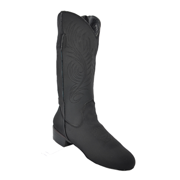 Ultimate - Women's Classic Country Boot - Black Lycra