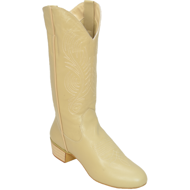 Ultimate - Women's Classic Country Boot - Skintone Leather