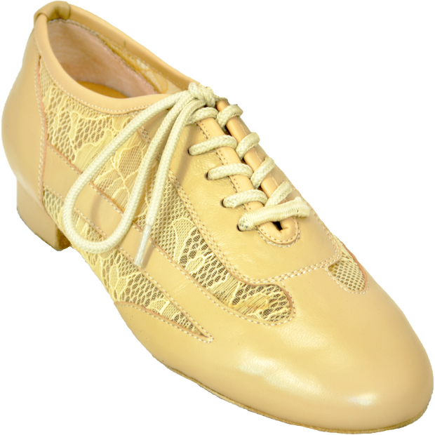 Ultimate Women's Depth - Tan Leather Mesh