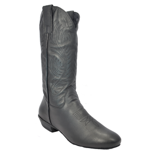 Ultimate - Men's Classic Country Boot - Black Leather