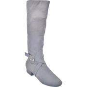 Ultimate Fashion Boot - Tall Lacey - Grey