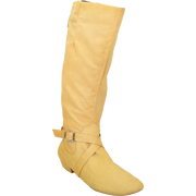 Ultimate Fashion Boot - Tall Lacey - Tan