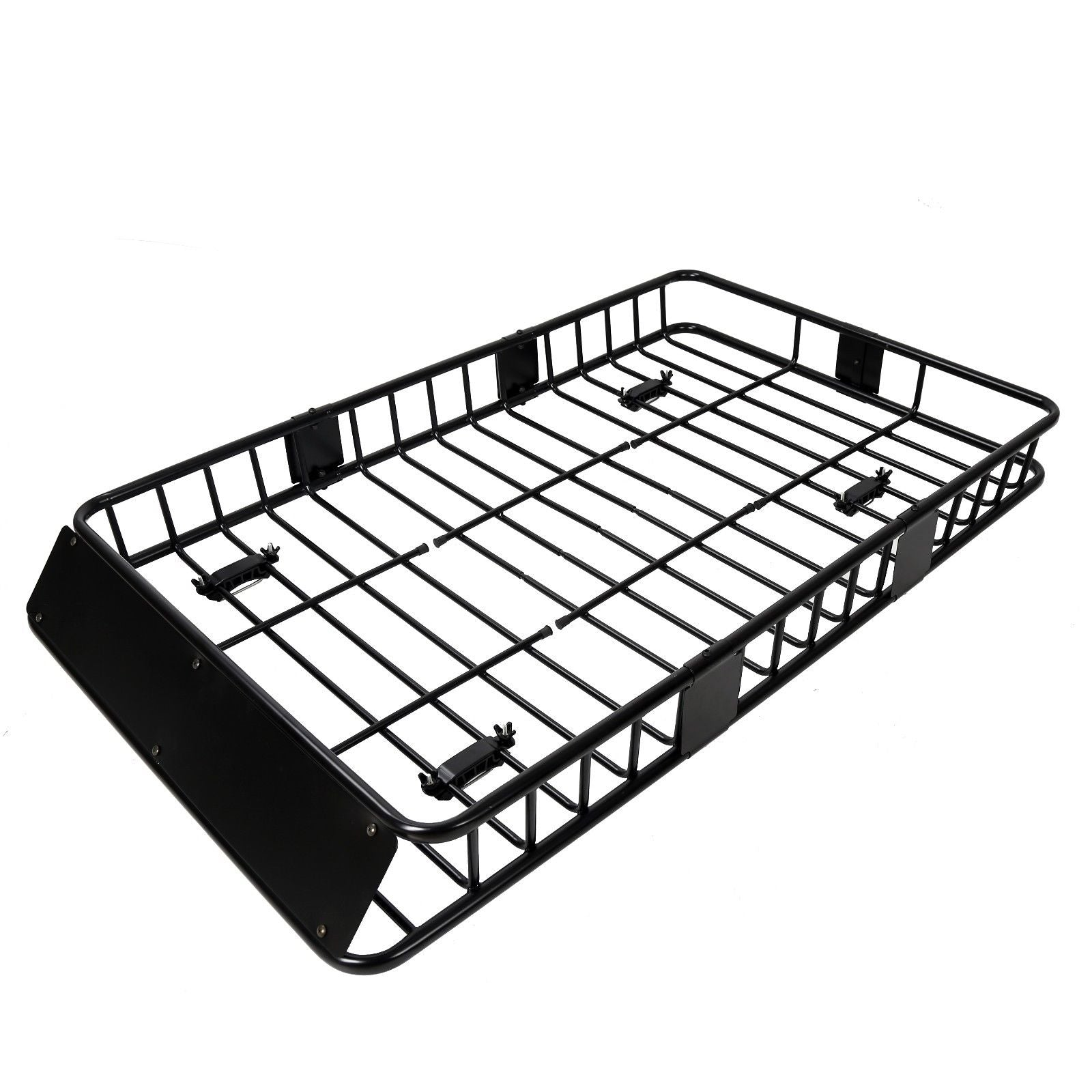 """Universal 64/"""" Black Roof Rack Extension Cargo Top Luggage Hold Carrier Basket"""