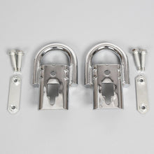 Load image into Gallery viewer, CA-88 Pair 2009-2018 Ford F150 Genuine RHA Chrome Tow Hooks part Pair Set w/ Hardware
