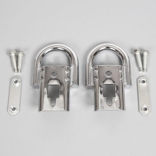 CA-88 Pair 2009-2018 Ford F150 Genuine RHA Chrome Tow Hooks part Pair Set w/ Hardware