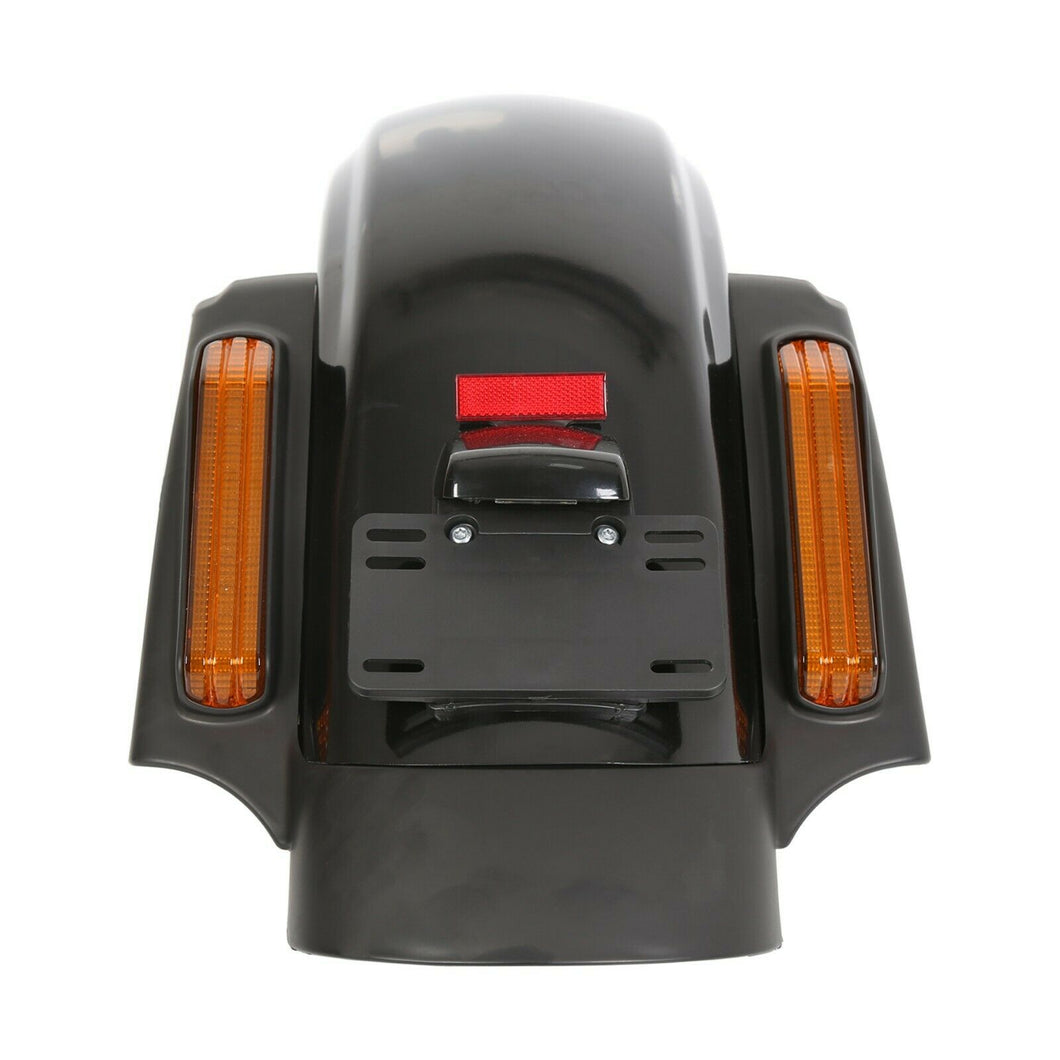 MT-20 LED CVO Style Rear Fender System For Harley Touring Electra Street Glide 2014-18