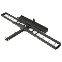 Load image into Gallery viewer, Steel Motorcycle Scooter DirtBike Carrier Hauler Anti Tilt Hitch Mount Rack Ramp