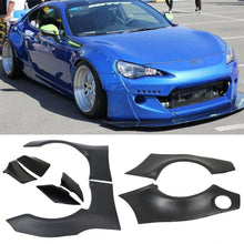 Load image into Gallery viewer, AT-91 Fits 2013-17 Scion FRS Subaru BRZ GR Style Fender Flare Cover- ABS