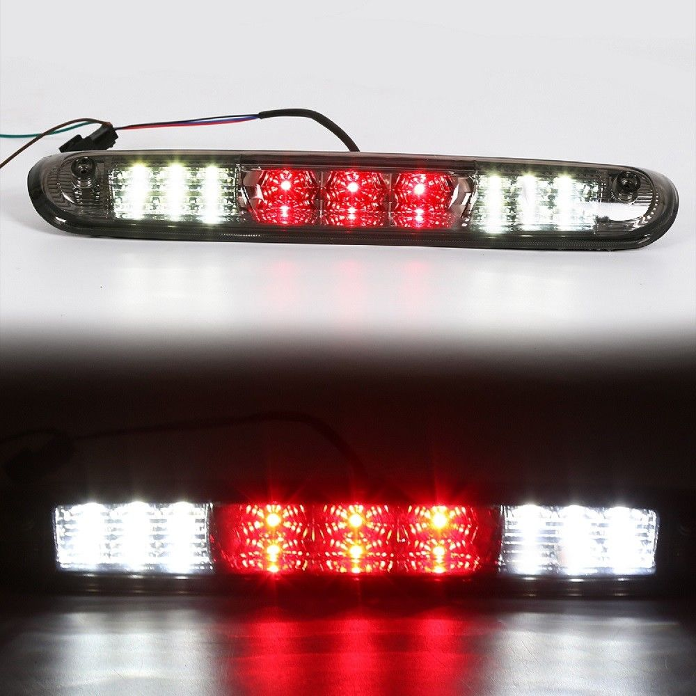 CL-08-S For 07-13 Chevy Silverado/GMC Sierra Smoked 3RD Third Brake+Cargo LED Light Lamp