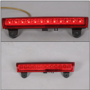 00-06 TAHOE/SUBURBAN/YUKON RED HOUSING REAR ROOF 3RD THIRD BRAKE LED LIGHT
