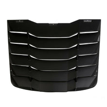 Load image into Gallery viewer, ET-031 Fits 03-08 Nissan 350Z IKON Matte Black Rear Windshiled Louvers Cover ABS