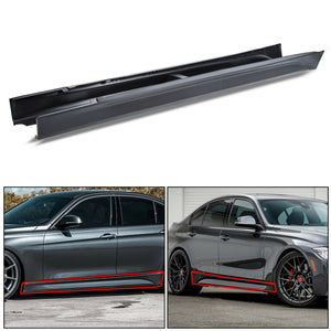 ET-203 F80 M3 Style Side Skirts Set Pair For All 12-18 BMW F30 F31 3 Series Sedan Wagon