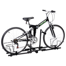 "Load image into Gallery viewer, New Heavy Duty 2 Bike Bicycle 2"" Hitch Mount Carrier Platform Rack Car Truck SUV"