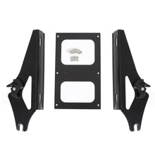 Load image into Gallery viewer, TU-10S-B Detachable Two-Up Tour Pack Pak Mounting Rack For Harley Touring 2014-2018