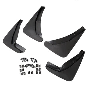 AT-24 Mud Flaps Guards Splash Molded 4 Piece For Dodge Challenger 2015-2018