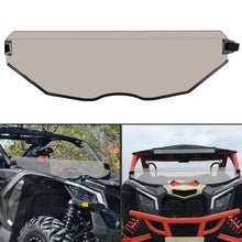 Load image into Gallery viewer, ET-081-5-SD Half Windshield Dark Tint Tinted For Can Am Maverick X3 Polycarbonate