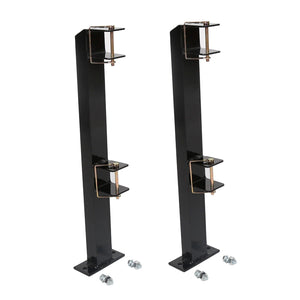RACK-A76 A Pair Of 2-Place Weed-eater Gas Trimmer Rack Holders Holds Two