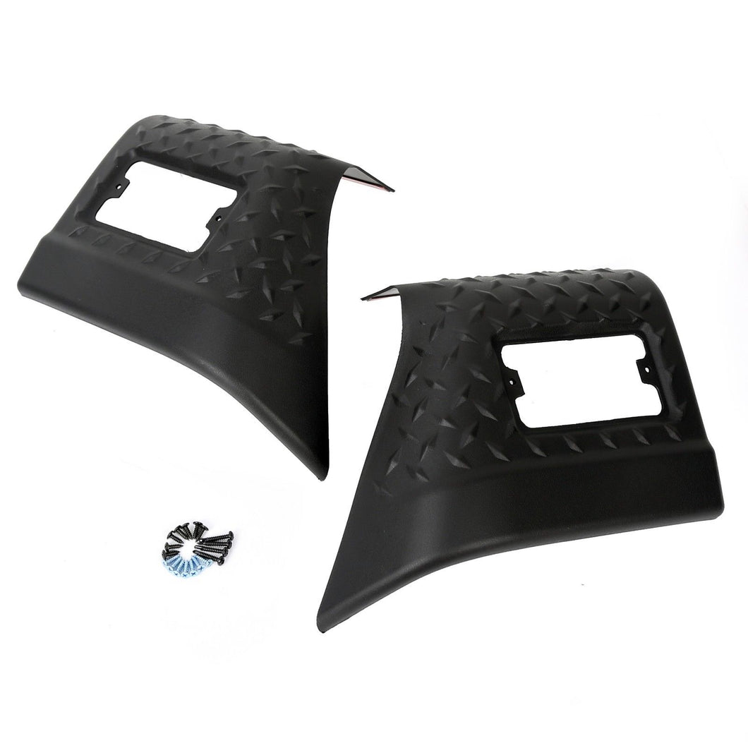 AT-06 Fender Bug Chip Guards Front Body Armor 11650.20 for Jeep TJ Wrangler 97-06