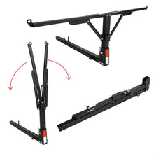 "Load image into Gallery viewer, ET-015 Steel Pick-Up Truck Bed Tailgate Extender Extension Rack 2"" Hitch Receiver 400lb"