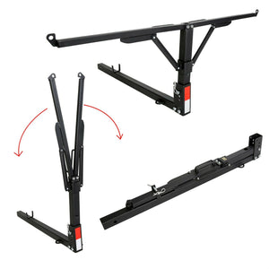 "ET-015 Steel Pick-Up Truck Bed Tailgate Extender Extension Rack 2"" Hitch Receiver 400lb"