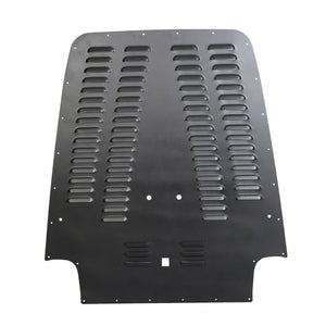 ET-005 Black Powdercoat Vented Hood Louver For 03-06 Jeep Wrangler TJ / LJ
