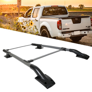CA-123 For 05-17 Nissan Frontier 4Door Aluminum Roof Rack/Rail Crossbar Luggage Carrier