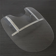 Load image into Gallery viewer, WSD-04 26''X23'' Detachable Windshield For Harley Heritage Softail Classic FatBoy Clear
