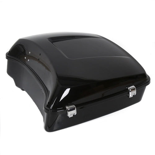 14-18 Black chopped trunk for Harley davision Tour pak pack Road Electra glide