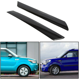 ET-131 Windshield Pillar Trim for 10-13 Kia Soul Exterior Molding Garnish Right & Left