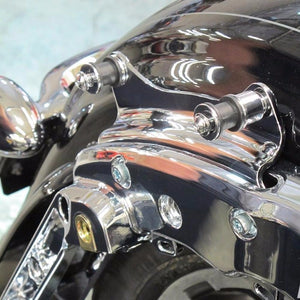 4 Point Docking Hardware Kit For 2009-2013 Harley Touring Road King Street Glide