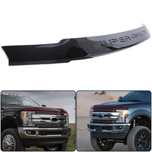 Load image into Gallery viewer, ET-273 For 17-19 Ford F250 F350 Super Duty Black Hood Deflector Bug Shield