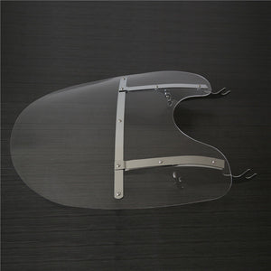 WSD-04 26''X23'' Detachable Windshield For Harley Heritage Softail Classic FatBoy Clear