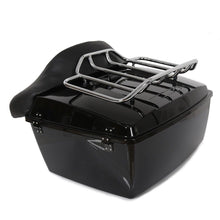 Load image into Gallery viewer, Harley Tour Pack Pak Trunk Luggage For Road King Electra Glide 97-08 W/ Top Rack