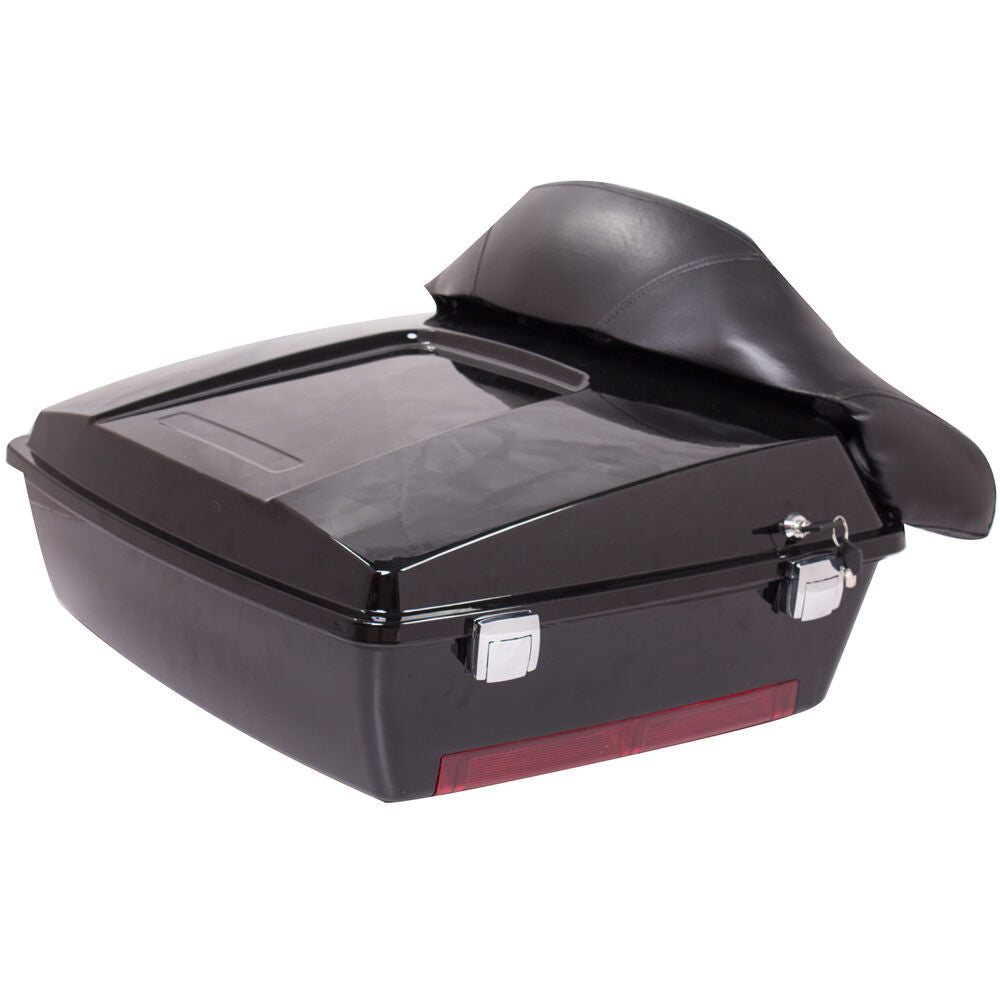 Harley Touring Chopped Tour Pack Trunk For Road King Electra Street Glide 97-13