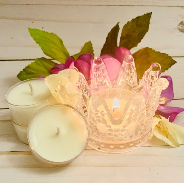 Crown Tea Light Holder Set (6 tea lights)