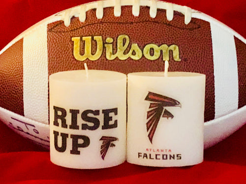 Atlanta Falcons Scented Candles (set of 2)