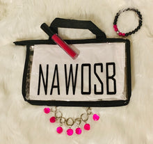 Load image into Gallery viewer, NAWOSB Cosmetic Tote