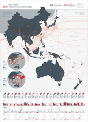 2012 Asia-Pacific Telecommunications Map