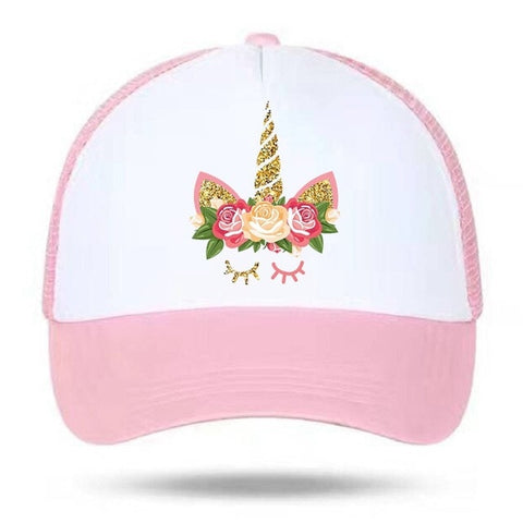 Children Adjustable Unicorn Cap
