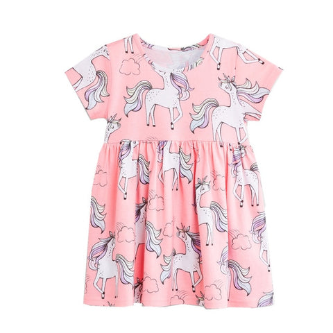 Unicorn Kids Dress - Unicornia