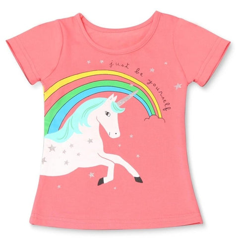 Kids Unicorn Rainbow Tee