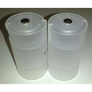Pair of AA to D Battery Adapters