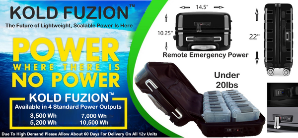 KMAG Kold Fuzion Fuel Cell  - From $599.00