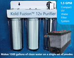 Kold Fuzion™ 12v Water Purification System w/ Kold Fuzion Power Cell