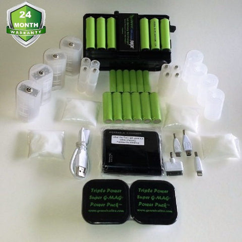 Triple Power GMAG® Complete Package MOST POPULAR CHARGER PACK  ONLY 5 UNITS LEFT