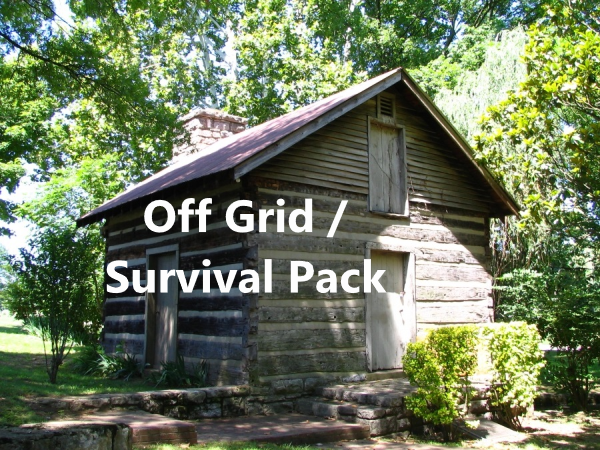 Off Grid / Survival Pack