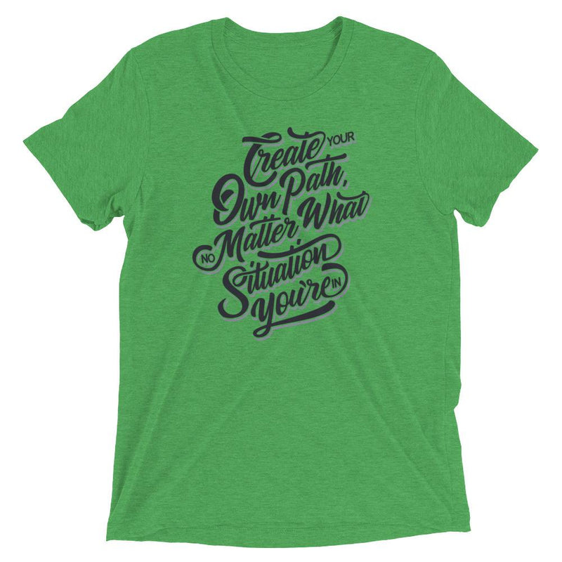 products/mens-create-your-own-path-t-shirt-green-triblend-xs-3.jpg