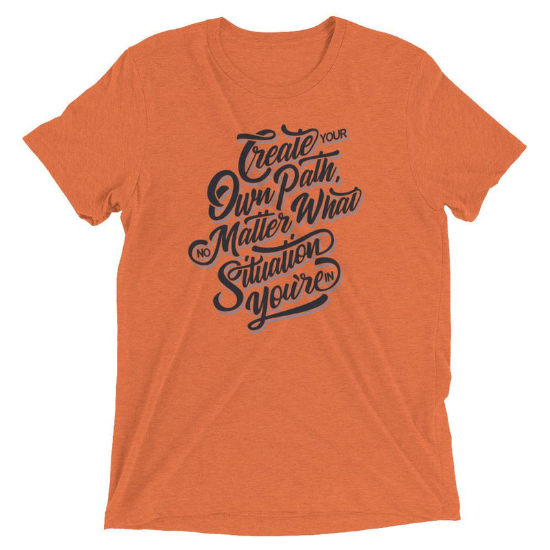 products/mens-create-your-own-path-t-shirt-orange-triblend-xs.jpg