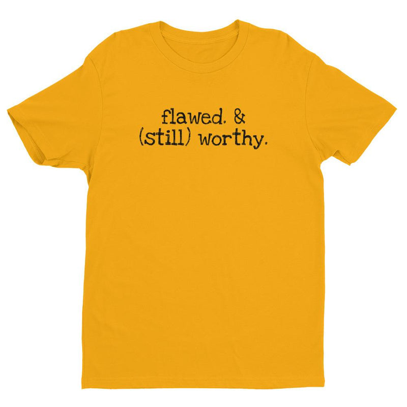 products/mens-flawed-still-worthy-t-shirt-gold-xs-3.jpg